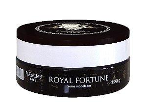 Pomada efeito natural | seco Royal Fortune 100g El Capitán