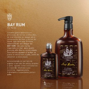 Pós barba Horseshoe Bay Rum 500ml El Capitán