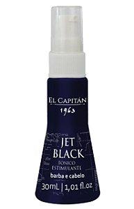 Tônico Estimulante Jet Black 30 ml El Capitán
