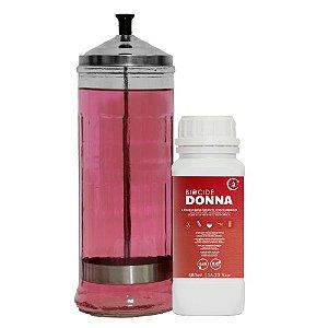 Kit  Jarro 1,2 litro e Biocide Donna Líquido Higienizante Concentrado 480 ml