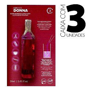Biocide Donna Líquido Higienizante Concentrado Monodose 30ml - caixa 3 unidades