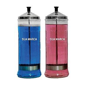 Personalização de jarro - adesivo 8x4cm