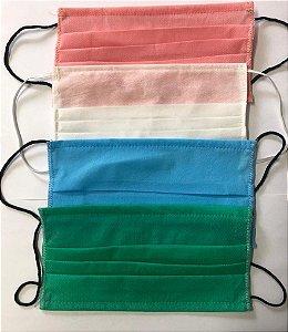 Mascará de proteção em algodão camada dupla Biocide
