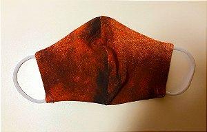 Máscara de tecido lavável camada dupla terra Biocide