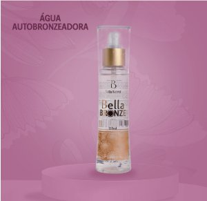 Água autobronzeadora Bella Bronze 120ml Bella Secret