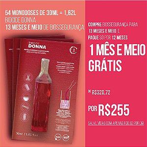BIOCIDE DONNA 54 MONODOSES DE 30ML = 1,62L | 13 MESES E MEIO