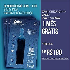 BIOCIDE BARBA 36 MONODOSES DE 30ML = 1,08L  | 9 MESES