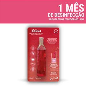 Biocide Donna  limpador desinfetante concentrado 30ml - caixa 3 unidades