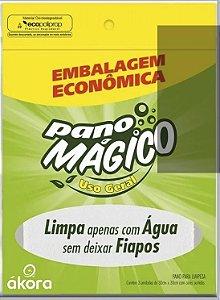 KIT COM 3 PANO MAGICO NANO FIBRA USO GERAL AKORA