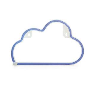 Luminária Silhueta Led Nuvem Azul c/ 1 unidade