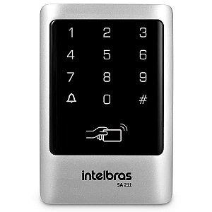 CONTROLE DE ACESSO INTELBRAS TECLADO STAND-ALONE SA 211 125KHZ