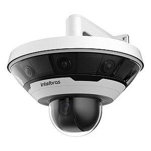 Câmera Panorâmica Ip Vip 7360 Multi Sensor 360º Com Ptz Intelbras