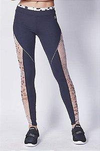 Calça Legging detalhes em tela Colcci Fitness - P