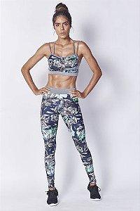 Top estampado Colcci Fitness - P/M