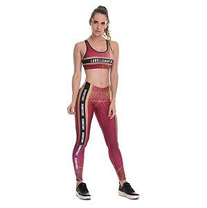 Conjunto calça legging e top Labellamafia - P