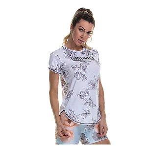 T-Shirt Branca Estampada Labellamafia - P