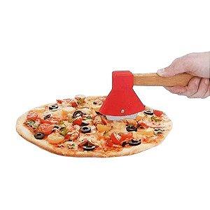 Cortador de Pizza Machado Vermelho