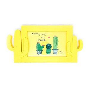 Porta-Retrato Cactus - Amarelo