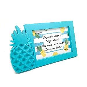 Porta-Retrato Abacaxi - Azul
