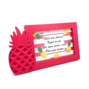 Porta-Retrato Abacaxi - Pink