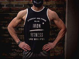 Regata Ringer Iron Fitness Preta