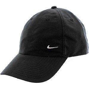Boné Nike Sportswear H86 Metal Swoosh - Strapback PRETO