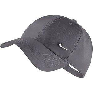 Boné Nike Sportswear H86 Metal Swoosh - Strapback CINZA