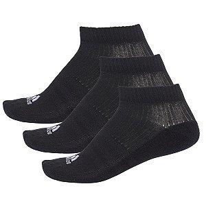 Kit 3 Meias Adidas Liner Cushion Tamanho 35 ao 38