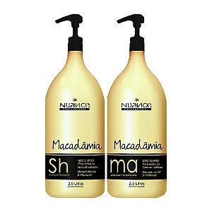 Kit Shampoo e Máscara Macadâmia 2,5L