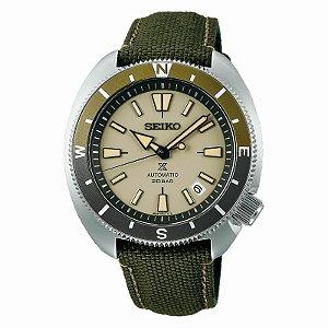 Relógio Seiko Prospex Tortoise Land Beige SRPG13K1 automático