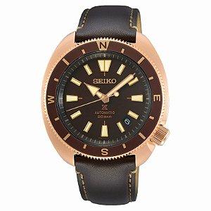 Relógio Seiko Prospex Tortoise Land Brown SRPG18K1 automático