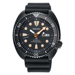 Relogio Seiko Ninja Prospex Turtle Automático Srpc49b1 Edição Limitada Black Series