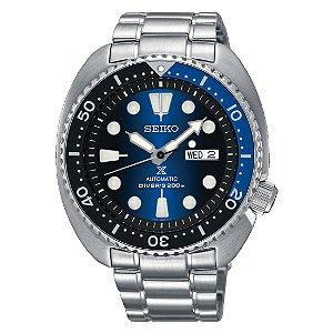 Relogio Seiko Prospex Automático Turtle Deep Blue srpc25b1