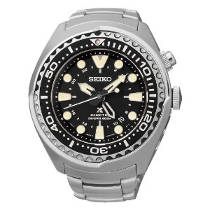 Relogio Seiko Prospex  Kinetic Gmt Divers Sun019b1