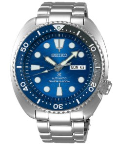 Relogio Seiko Prospex Turtle Save the Ocean Great White Shark Srpd21b1 Automático Edição limitada