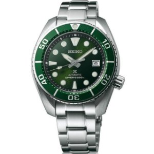 Relógio Seiko Prospex Sumo Green Safira Spb103j1 Made in Japan