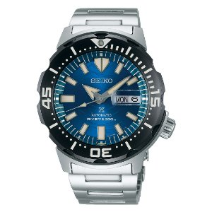 Relogio Seiko Prospex Monster Save the Ocean Great White Shark Srpe09k1