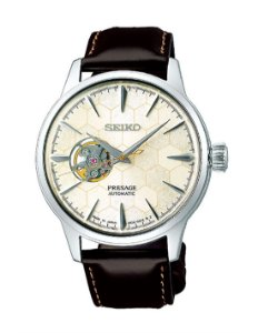Relógio Seiko Presage Coquetel Star Bar HONEYCOMB Automático SSA409J1 Made in Japan