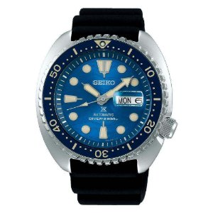 Relogio Seiko Prospex Automático king Turtle Srpe07k1 Save the Ocean Great White Shark Safira + Cerâmica