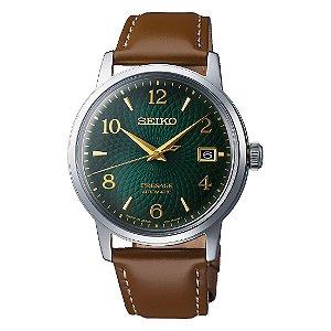 Relógio Seiko Presage Coquetel Mojito Guilloche Automático srpe45j1 Made in Japan