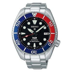 Relógio Seiko Prospex Sumo Padi Safira Spb181j1 / SBDC121 Made in Japan