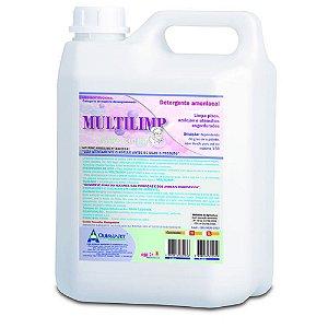 Detergente Amoníaco Multilimp 5lt