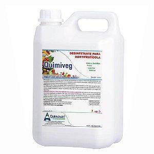 Desinfetante Para Vegetais Quimiveg 5lt