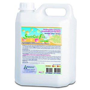 Desinfetante Sanitgel Fix 5lt