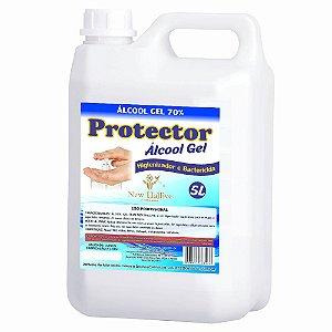 Alcool Gel 70% Antisséptico Protector 5lt