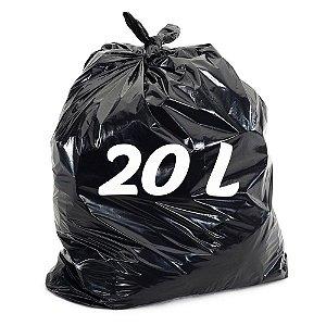 Saco De Lixo 20lt Preto