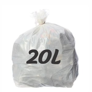 Saco De Lixo 20lt Branco