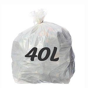 Saco De Lixo 40lt Branco