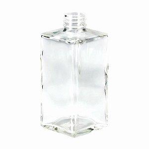 Frasco De Vidro Square Cristal 250ml