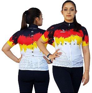 Camisa Ciclismo Sódbike Feminina Nações - Alemanha